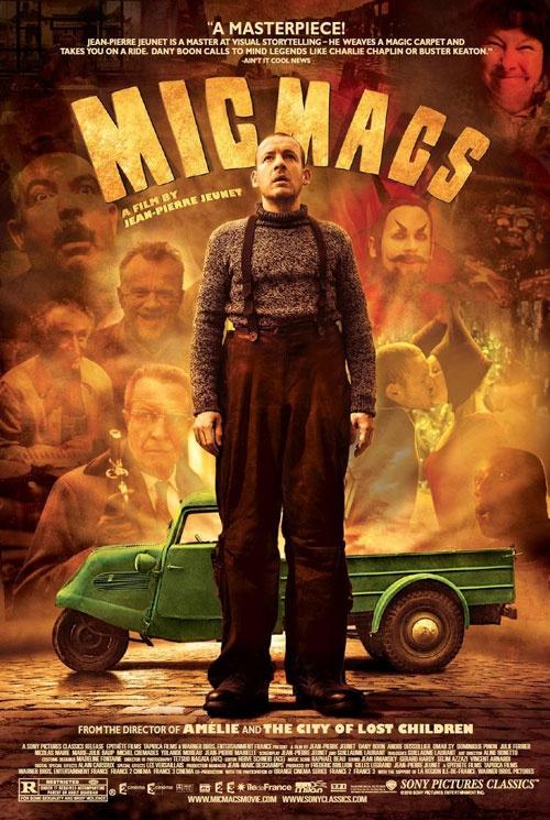 Micmacs...a terrific french film...