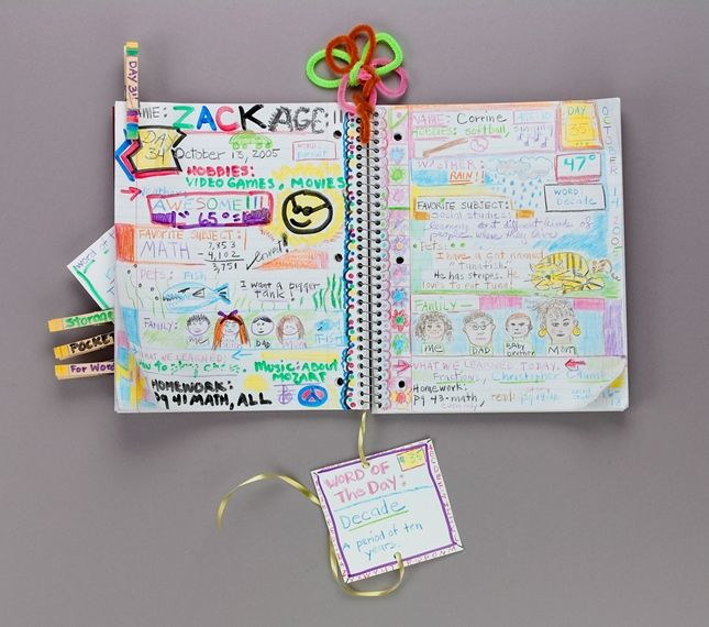 Our First 100 Days lesson plan/ I love this idea of having a class journal recording something each day/ it could be a class job