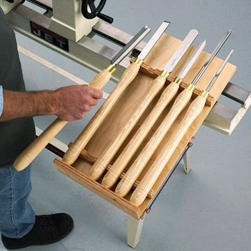 Hang-and-go lathe-tool holder