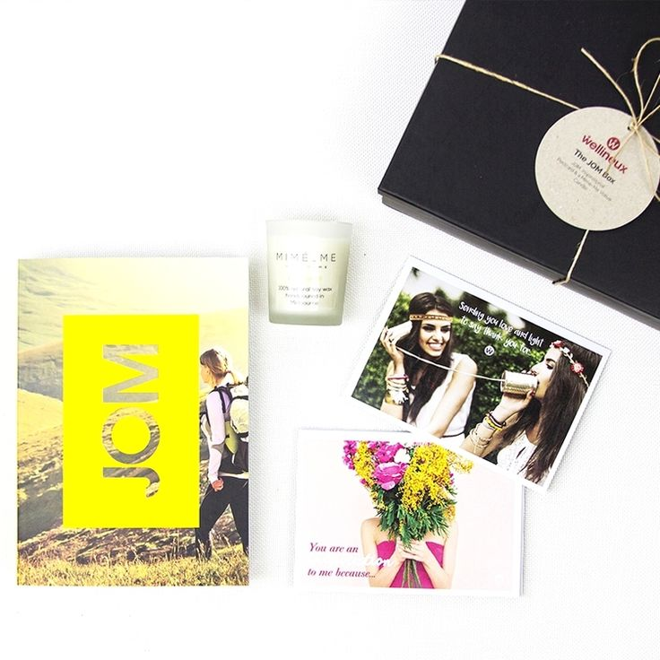 The JOM Box | A beautiful gift for a loved one starting to dip their toes into the world of wellness.