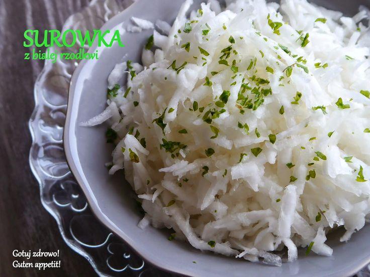 Gotuj zdrowo!Guten Appetit!: Surówki z białej rzodkwi - II warianty oraz ich…