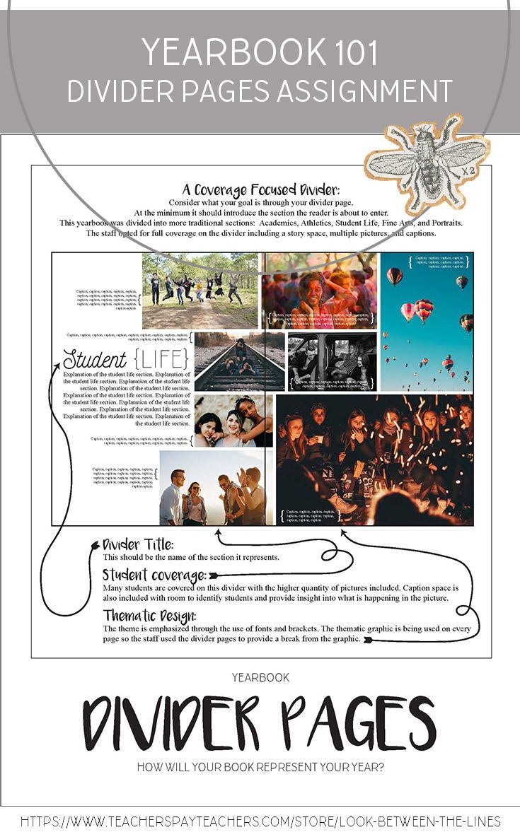 Walk Your Yearbook Staff Through The Process Of Researching Planning And Creating The Divider Pages For Thei Yearbook Design Yearbook Staff Teaching Yearbook [ 1184 x 735 Pixel ]