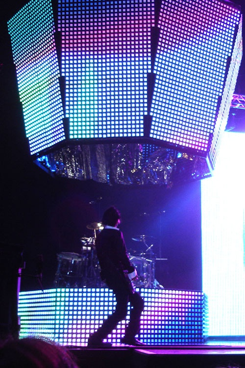 Muse: Wells Fargo Center 9/9/13. Cage the Elephant opened. Best set design!