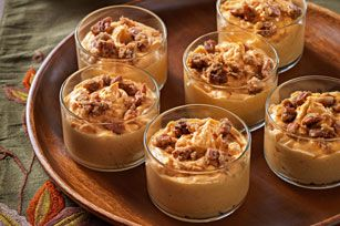 Praline Pumpkin Mousse recipe