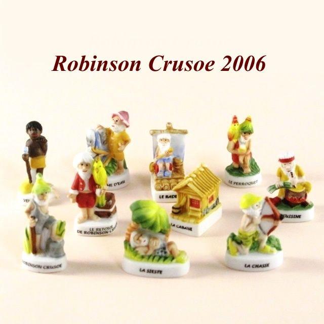 【フェーブ】ROBINSON CRUSOE 2006年 ロビンソン・クルーソー 10個 (S)