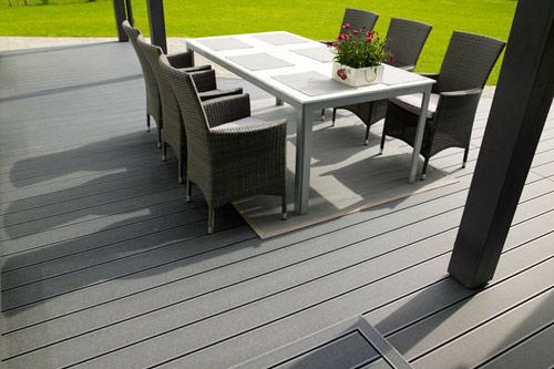 #cheapest waterproof deck flooring ,plastic lumber composite decks cost