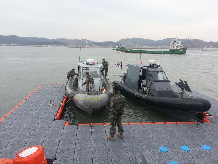 Floating Platform in Korea, Military Service