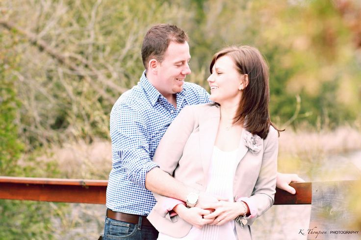 Angela & PJ - ENGAGED! | Spring Engagement Photos | K. Thompson Photography