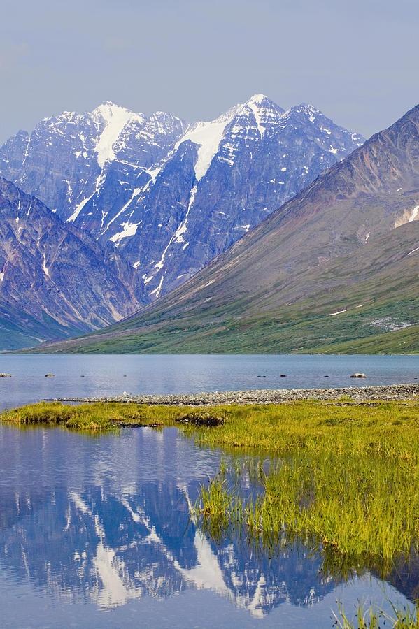 ✯ Turquoise Lake below Telaquana Mountain - Lake Clark National Park - Alaska