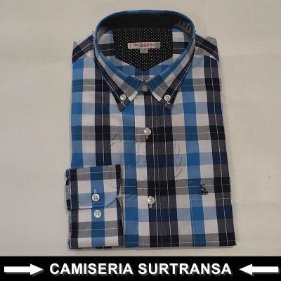 Camisa Cuadros Surtransa 582