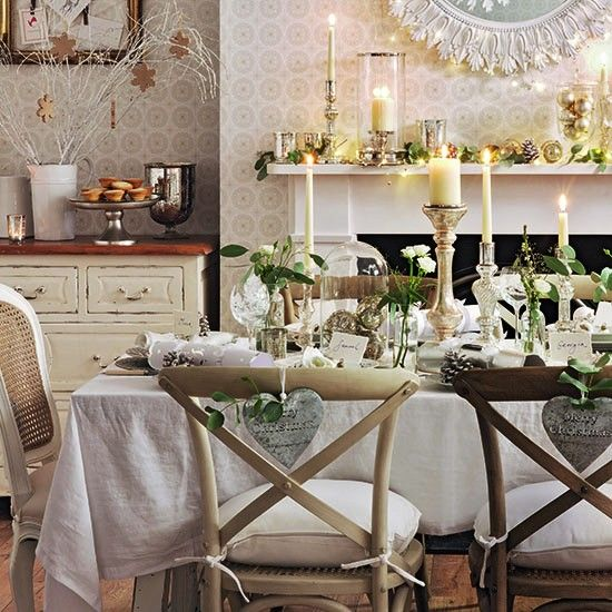 25 Best Ideas About Cottage Dining Rooms On Pinterest: Best 25+ Christmas Dining Rooms Ideas On Pinterest