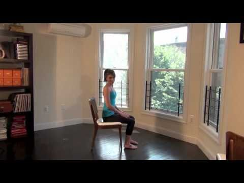Seated Leg Extension - YouTube