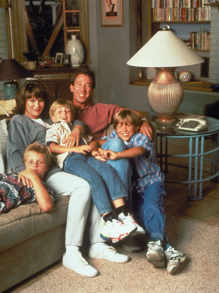 Home Improvement, great tv series. Ran from 1991 - 1999. Launched Tim Allens acting career.