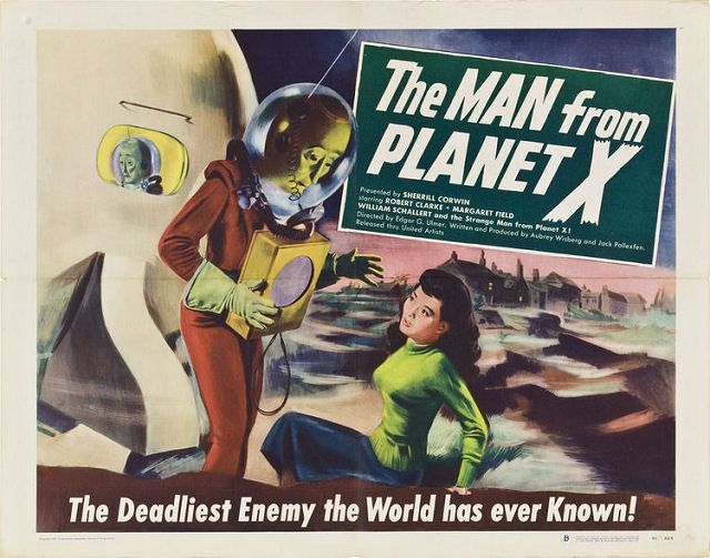 The MAN from PLANET X