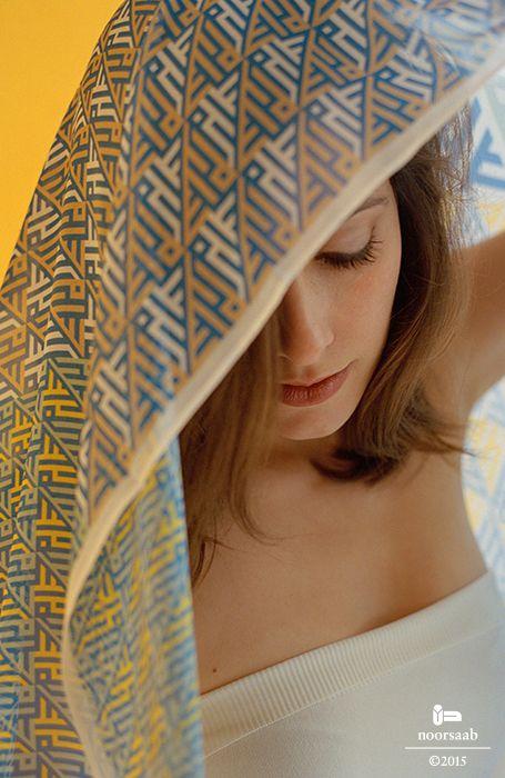 noorsaab | Lookbook02 | Camus luxury silk scarf