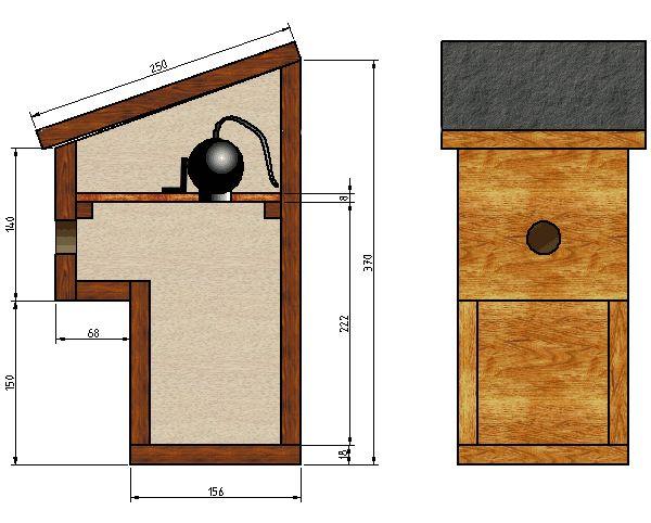 nichoir balcon avec webcam nichoirs pinterest nichoirs balcons et oiseaux. Black Bedroom Furniture Sets. Home Design Ideas