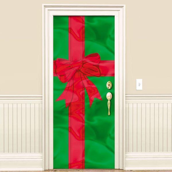 Foil Christmas Door Decoration 78in Christmas Door