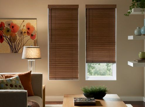 Bali Wood Blinds for the living room  2 Northern Heights