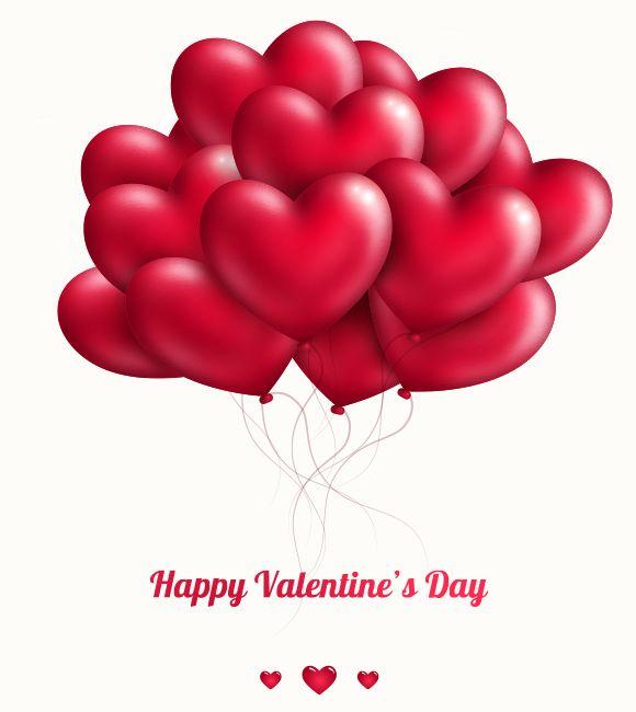 Happy Valentine S Day Balloons Valentine Emoticons Pinterest