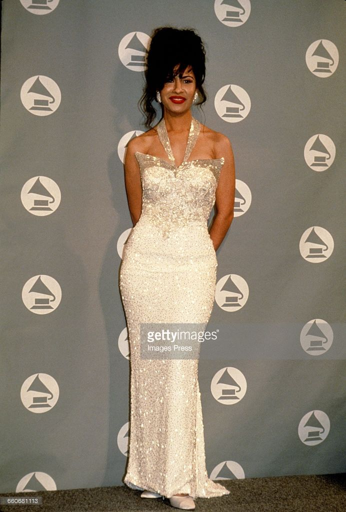 Selena's 1994 Grammy Dress. Definitely going to inspire my  and maybe recreate it for my Formal/Prom Outfit.  -Reign