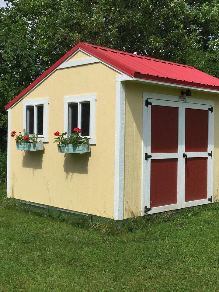 224 best custom buildings sheds images on pinterest for Custom storage sheds