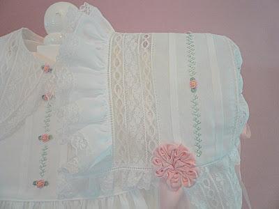 Beautiful heirloom sewing