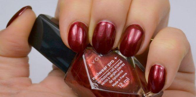 AVON Birthstones Nailwear Pro+ Nail Enamel - Garnet - Beauty by Miss L