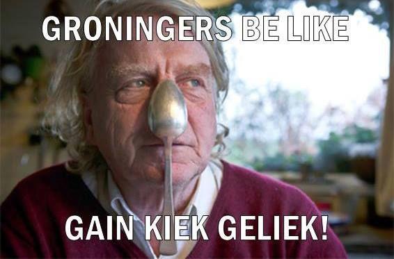 Gek gezicht in #Groningen