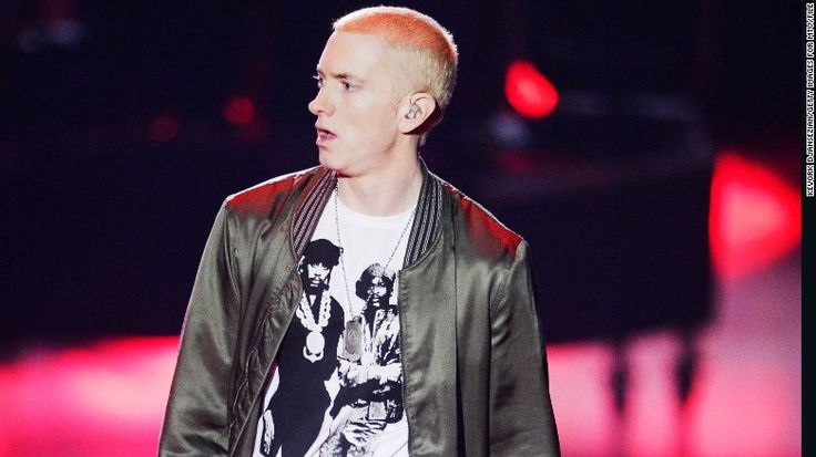 Eminem topped the musical vocabulary list, using almost 9,000 unique words in his songs.