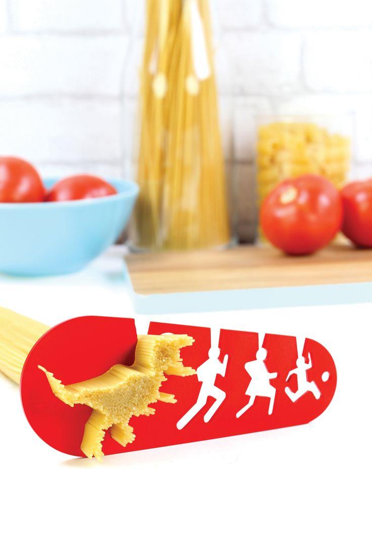 I COULD EAT A T-REX · http://doiydesign.com/en/products/124-i-could-eat-a-t-rex.html  #pasta #trex #measuring #tool #kitchen www.geminioctopus.com