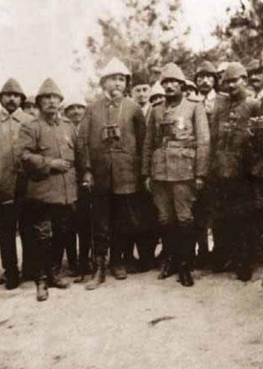 1881-1915 yılları arası Atatürk albümü. Gelibolu, Çanakkale, 16 Temmuz 1915