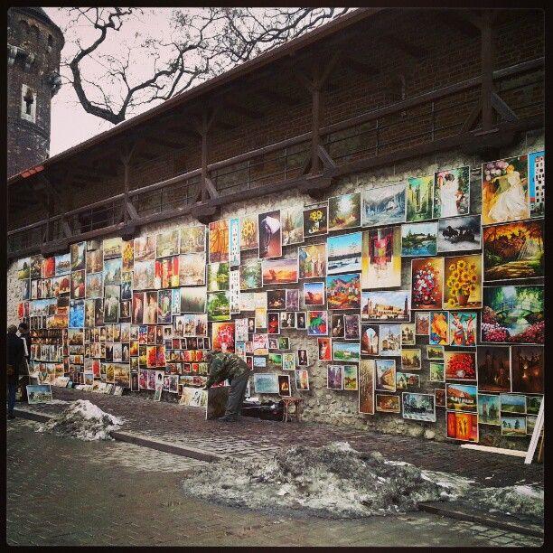 rafaelcaricio: #krakow #poland #cracovia #art #life #artist