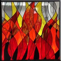 28 best Stained Glass Fire Place images on Pinterest | Fireplace ...