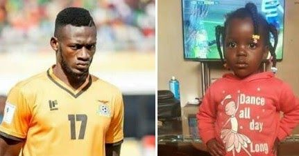 Zambian Player Whose Goal Against Nigerian Was Disallowed, Lost His Twin Daughter During The Match And He Was Not Told Till After The Match