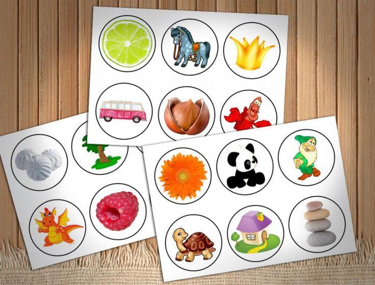 Большое лото для малышей - Занятия для раннего развития детей RightBrain.Training