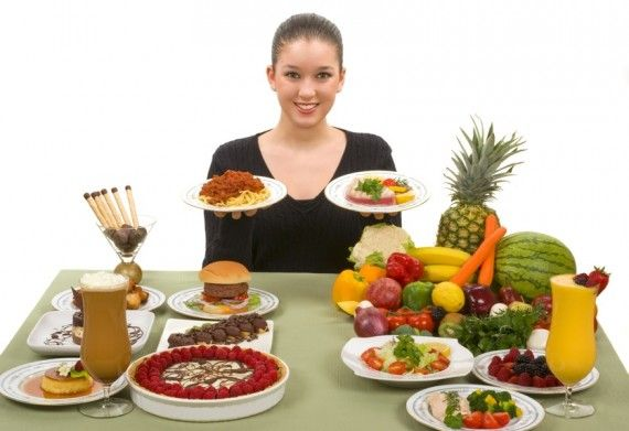 Полезные продукты для здоровья и красоты