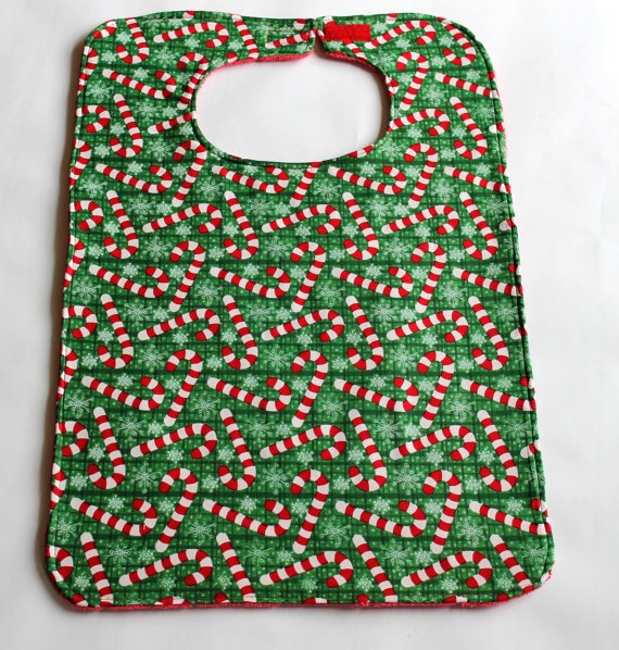 free adult bib pattern