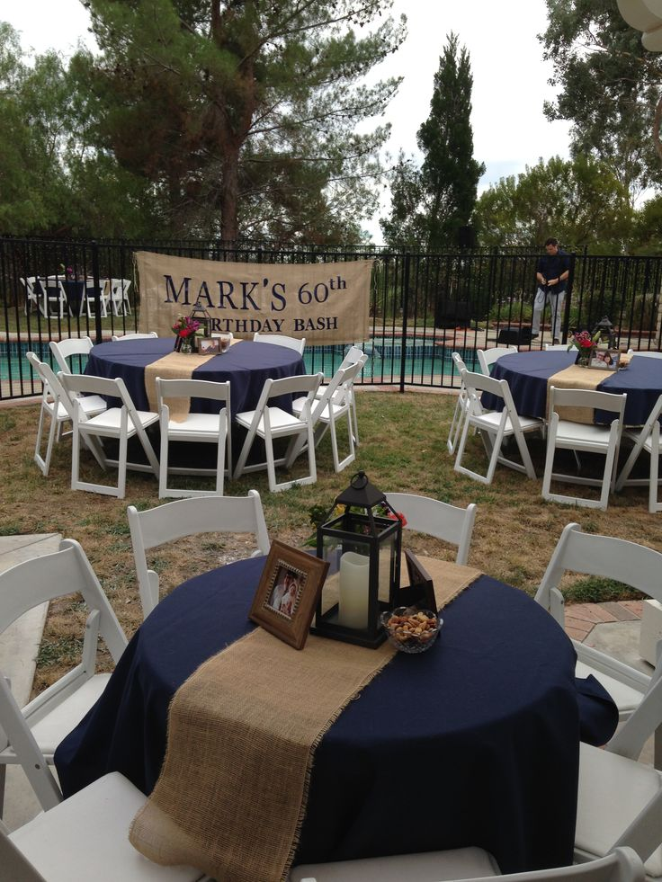 Outdoor birthday party. Table designs by Renee's Events