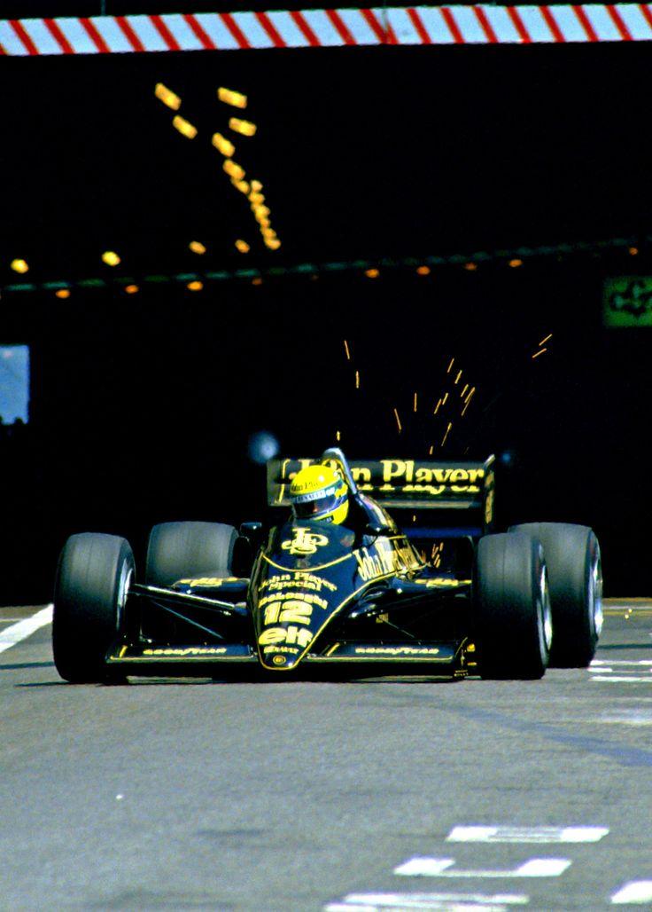Lotus Renault - Ayrton Senna