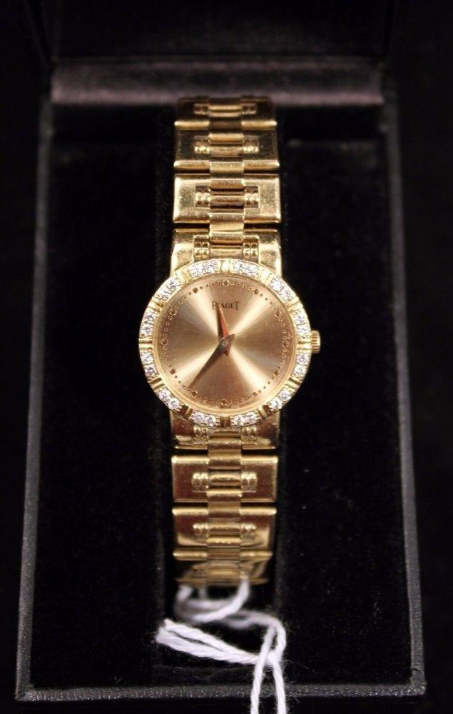 Piaget Dancer 80564k81 Ladies Wrist Watch 18k Solid Gold Diamond Wristwatch #Piaget #DressFormal