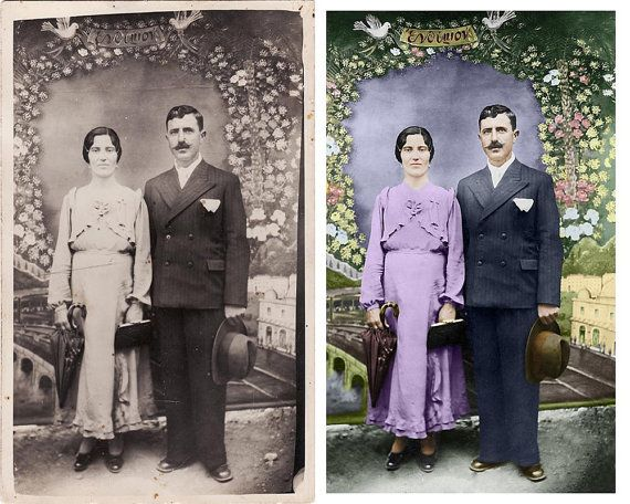 Colorize Your Black And White Photos  Digital by dasfolDesign
