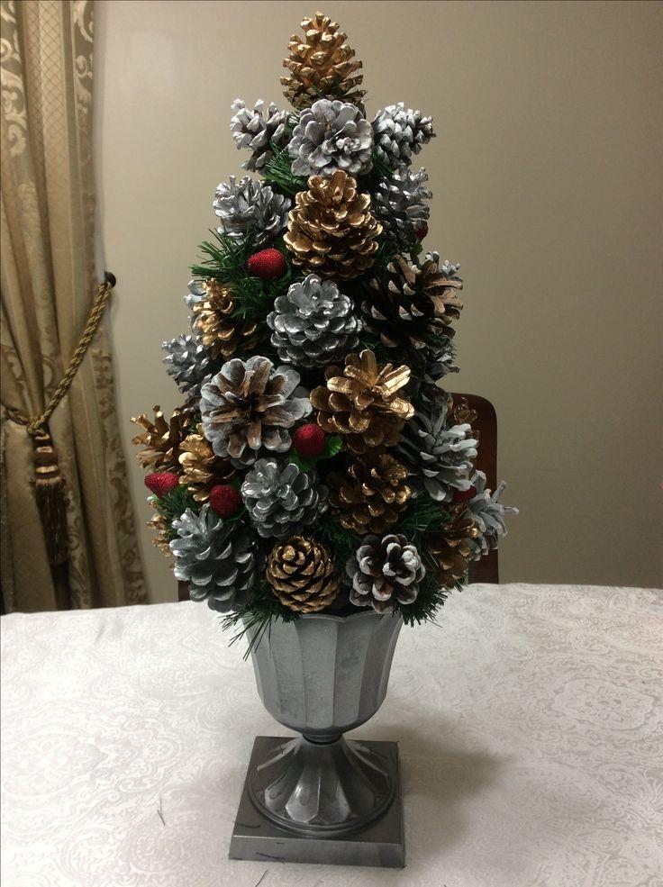 Pinecone Christmas tree ❤️ 2017