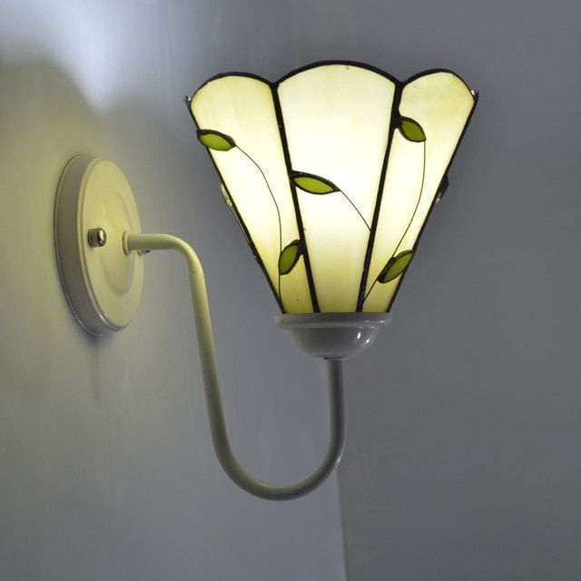 Tiffany Wall Lights Visible Glass Works Of Art With Cozy Light Home Interior Design Ideas Glass Wall Sconce Stained Glass Lamps Glass Wall Lights