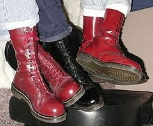 AHH, the cherry red Doc Martens.  I shall be getting mine soon.