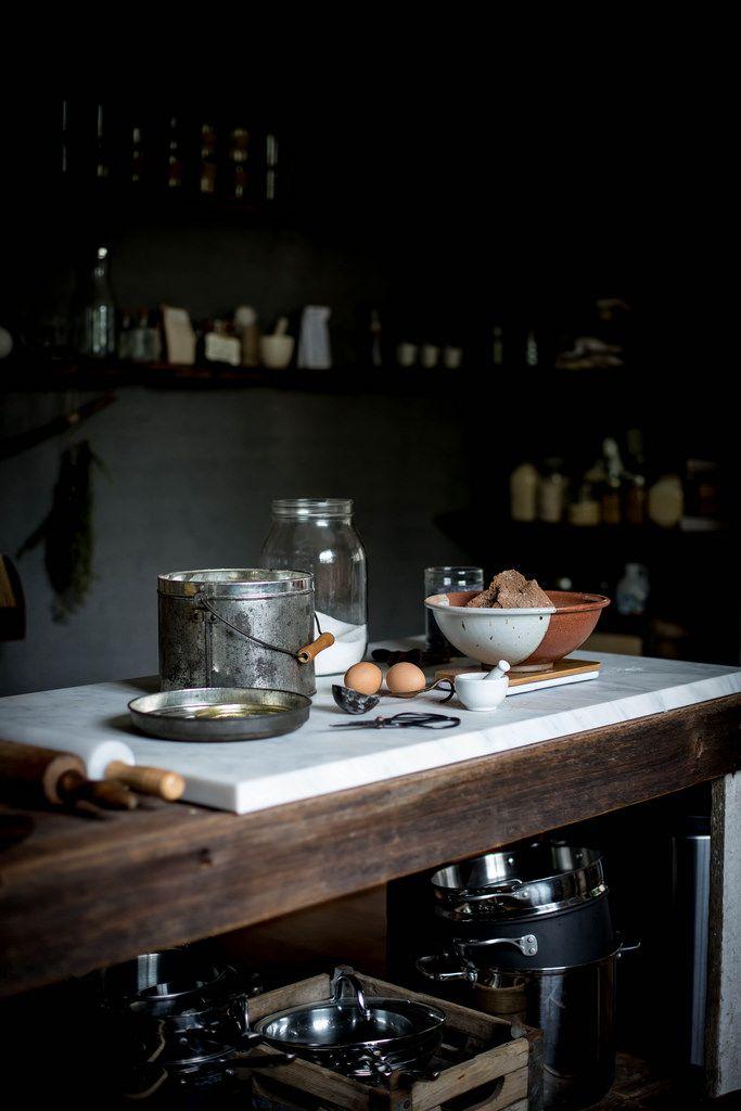 Local Milk | 2 years of local milk | rich chocolate lavender cake + mascarpone…