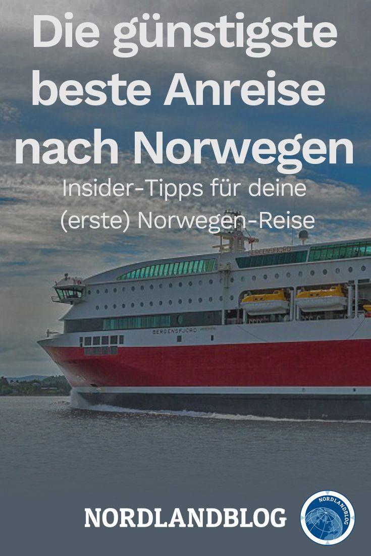 Insider-Tipps für deine (erste) Reise – Die Anreise nach Norwegen