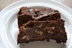 zwarte bonen brownie a la fit with Marit