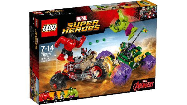 Hulk Vs Hulk Rojo - Lego - Lego - Sets de Construcción - Sets de Construcción JulioCepeda.com