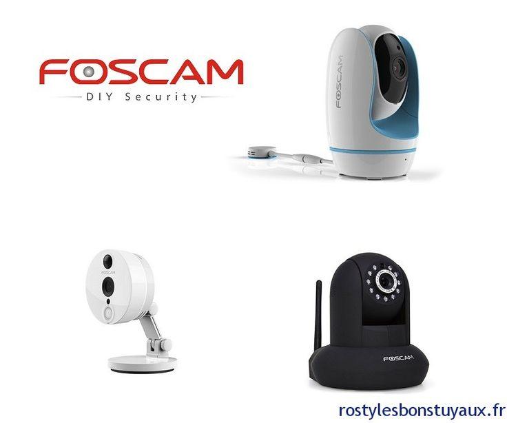 Bons Plans sur les Caméras IP FOSCAM (Foscam C2 1080P à 90 etc..) Bonjour  Suite au bon plan sur laFoscam C1 à 51 je vous ai dégoté de nouveaux codes promo exclusifs concernant 3 autres modèles de caméra Foscam etavec notamment40 de remise sur un modèle précis.  Il sagit des modèles Foscam F19821P (rotative PTZ 720P) FoscamC2 (Idem C1 mais Full HD 1080P) et Fosbaby (dédié à bébé via ces fonctions particulières).  Donc on commence avec laF19821P qui est une caméra intérieure motorisée HD 720P…