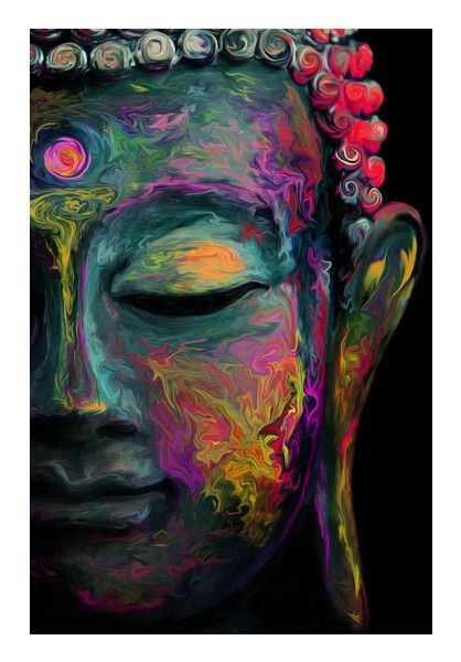 Inner Flame | The mind is everything. What you think you become. | Bud | PosterGully
